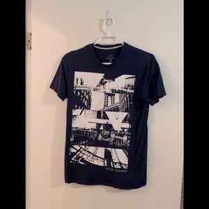 A/X Armani Exchange graphic t-shirt XS
